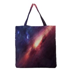 Digital Space Universe Grocery Tote Bag
