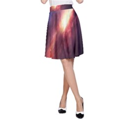 Digital Space Universe A Line Skirt
