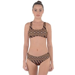 Batik The Traditional Fabric Criss Cross Bikini Set