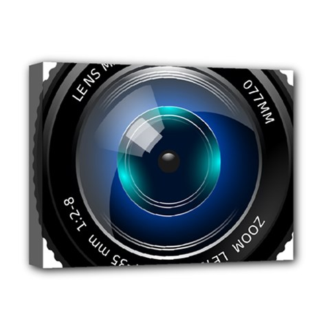 Camera Lens Prime Photography Deluxe Canvas 16  X 12   by BangZart