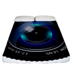 Camera Lens Prime Photography Fitted Sheet (queen Size) by BangZart