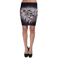 Lion Robot Bodycon Skirt