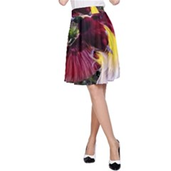 Cendrawasih Beautiful Bird Of Paradise A Line Skirt