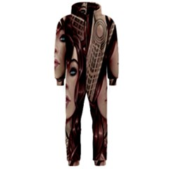 Beautiful Women Fantasy Art Hooded Jumpsuit (men)  by BangZart