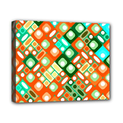 Pattern Factory 32c Canvas 10  X 8  by MoreColorsinLife