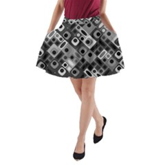 Pattern Factory 32f A Line Pocket Skirt by MoreColorsinLife