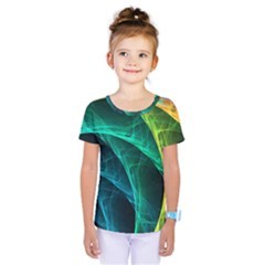Aura Waves Kids  One Piece Tee