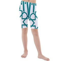 Seal Of Hamedan  Kids  Mid Length Swim Shorts by abbeyz71