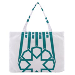 Seal Of Hamedan  Medium Zipper Tote Bag by abbeyz71