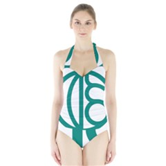 Seal Of Isfahan  Halter Swimsuit by abbeyz71