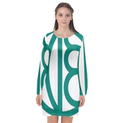 Seal Of Isfahan  Long Sleeve Chiffon Shift Dress  by abbeyz71