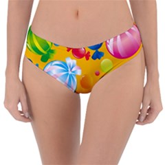 Sweets And Sugar Candies Vector  Reversible Classic Bikini Bottoms by BangZart
