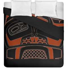 Traditional Northwest Coast Native Art Duvet Cover Double Side (king Size)