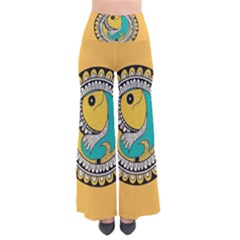 Madhubani Fish Indian Ethnic Pattern Pants