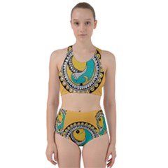 Madhubani Fish Indian Ethnic Pattern Bikini Swimsuit Spa Swimsuit  by BangZart