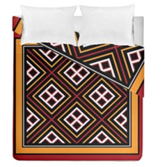 Toraja Pattern Pa re po  Sanguba ( Dancing Alone ) Duvet Cover Double Side (queen Size)