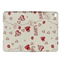 Pattern Hearts Kiss Love Lips Art Vector iPad Air 2 Hardshell Cases View1