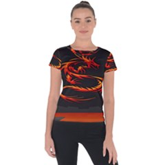 Dragon Short Sleeve Sports Top