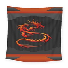 Dragon Square Tapestry (large)