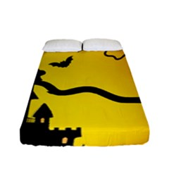Halloween Night Terrors Fitted Sheet (full/ Double Size) by BangZart