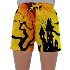 Halloween Night Terrors Sleepwear Shorts
