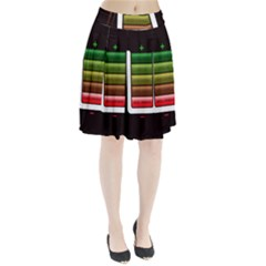 Black Energy Battery Life Pleated Skirt