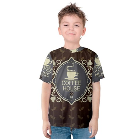 Coffee House Kids  Cotton Tee by BangZart