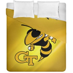 Georgia Institute Of Technology Ga Tech Duvet Cover Double Side (california King Size) by BangZart