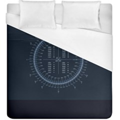 Minimalistic Knowledge Mathematics Trigonometry Duvet Cover (king Size) by BangZart