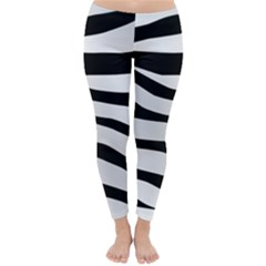 White Tiger Skin Classic Winter Leggings