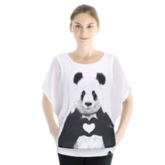 Panda Love Heart Blouse