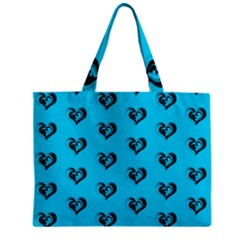 Lovely Hearts 17f Zipper Mini Tote Bag by MoreColorsinLife