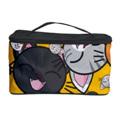 Cats Cute Kitty Kitties Kitten Cosmetic Storage Case by BangZart