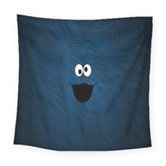 Funny Face Square Tapestry (large) by BangZart