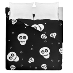 Skull Pattern Duvet Cover Double Side (queen Size) by BangZart
