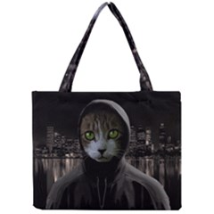 Gangsta Cat Mini Tote Bag