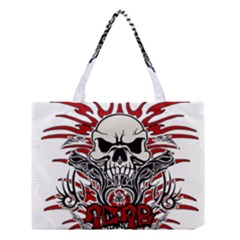 Acab Tribal Medium Tote Bag by Valentinaart
