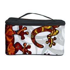 Ornate Lizards Cosmetic Storage Case by Valentinaart