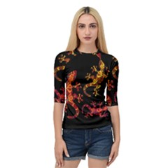 Ornate Lizards Quarter Sleeve Tee