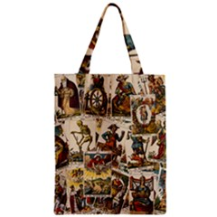 Tarot Cards Pattern Classic Tote Bag