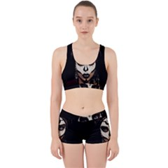 Voodoo  Witch  Work It Out Sports Bra Set by Valentinaart