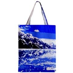 Landscape Zipper Classic Tote Bag by Valentinaart