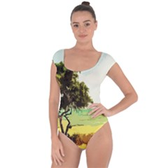Landscape Short Sleeve Leotard