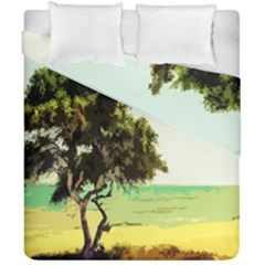 Landscape Duvet Cover Double Side (california King Size) by Valentinaart
