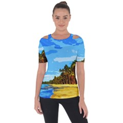 Landscape Short Sleeve Top