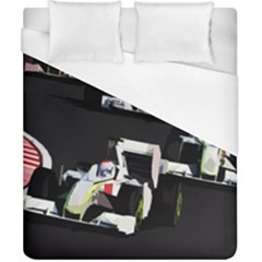 Formula 1 Duvet Cover (california King Size) by Valentinaart