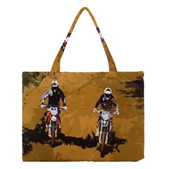 Motorsport  Medium Tote Bag by Valentinaart