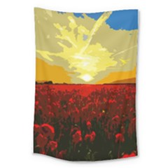 Poppy Field Large Tapestry