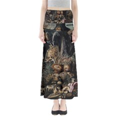 Underwater Full Length Maxi Skirt by Valentinaart