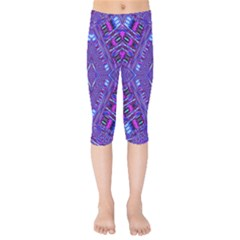 Race Time Queen Kids  Capri Leggings